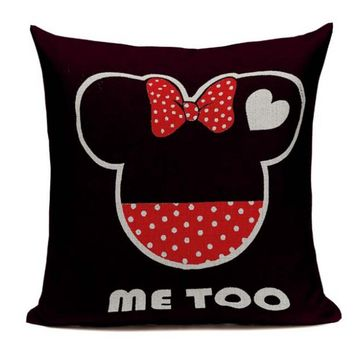 Me Too Disney Style Pillow Cover D4