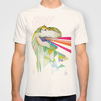 Dinosaur / August T-shirt by Belén Segarra