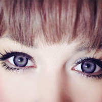 EOS Sugar Candy Violet  EyeCandy's Circle Lenses Novelty Colour Contacts