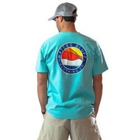 Bluff Horizon Tee Shirt in Mint Green by Waters Bluff