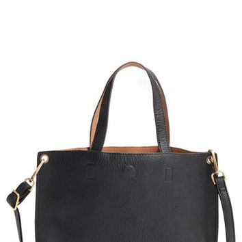 Street Level Reversible Faux Leather Tote | Nordstrom
