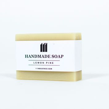 Handmade Soap Lemon Pine