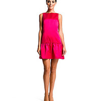 CeCe by Cynthia Steffe Charley Drop-Waist Dress - Vivid Pink