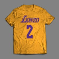 LONZO BALL LOS ANGELES LOGO MASH UP T-SHIRT