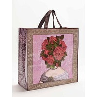 Flower Heads Shopper Shoulder Bag