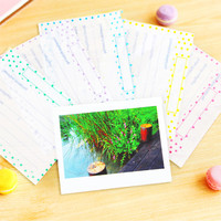 Photo Sleeves Film Covers Color Dot Frame for Fujifilm Instax Wide Films Polaroid Instant Photos