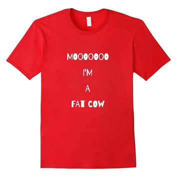Moo Cow Farm Animal T Shirt Halloween Costume Barn
