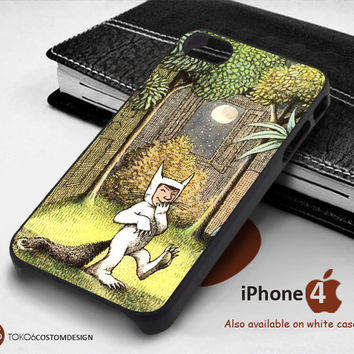Where the Wild Things for iPhone 4/4S, iPhone 5/5S, iPhone 6, iPod 4, iPod 5, Samsung Galaxy Note 3, Galaxy Note 4, Galaxy S3, Galaxy S4, Galaxy S5, Galaxy S6, Phone Case