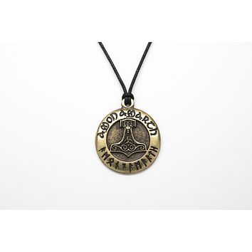 Amon Amarth Unisex Necklace with Rope