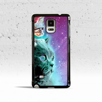 Cat & Kitten Stellar Nebula Show Case Cover for Samsung Galaxy S3 S4 S5 S6 Edge Active Mini or Note 1 2 3 4 5