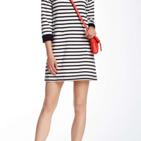 Kate Spade New York Boatneck Stripe Dress