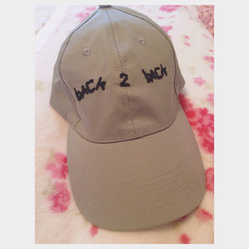 Back to Back Drizzy Drake and Meek Mill Diss Baseball Hat Cap
