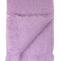 "Mohair Throw - ""Lilac"", by Grace Hayes - Grace Hayes Linens on Taigan"