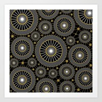 INFINITE UNIVERSE Art Print by Absentis Designs