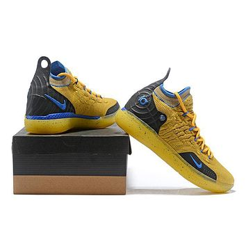 Nike Kevin Durant Kd 11 Basketball Shoe Yellow/black | Best Deal Online