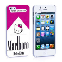 Marlboro Hello Kitty iPhone 4s iPhone 5 iPhone 5s iPhone 6 case, Galaxy S3 Galaxy S4 Galaxy S5 Note 3 Note 4 case, iPod 4 5 Case