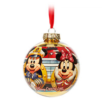 Mickey Mouse and Friends Ball Ornament - Disney Cruise Line