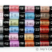 "12 NYX Loose Pearl Eyeshadow Pigment  ""Pick Your 12 Color ""   *Joy's cosmetics*"