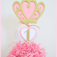 Princess Party Decorations | Princess Party Centerpieces with Crown