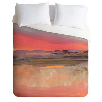 Viviana Gonzalez Improvisation 01 Duvet Cover | Deny Designs Home Accessories