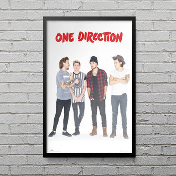 One Direction Poster Music Poster Nial Horan Harry Styles Liam Payne Louis Band Print Poster OFFICIAL Movie LP3