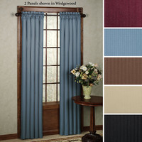 Clark Thermaback(TM) Blackout Curtain Panels