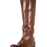 Frye Women's Melissa Button Boot - Cognac