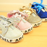 New Arrival 11-13cm Cute Infant Toddler Baby Shoes Girl Boy Soft Sole Sneaker Prewalker First Walker Crib Sport