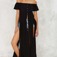 Cut About Us Maxi Top