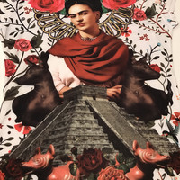 Frida Kahlo Graphic Tee Shirt - Maya