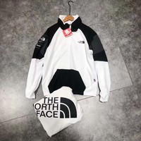 THE North Face Winter Jacket white/black