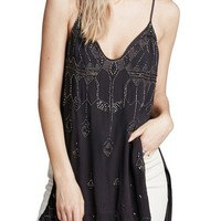 Free People 'Dancin' in the Moonlight' Beaded Tank | Nordstrom