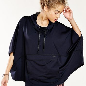Without Walls Fleece Poncho - Urban Outfitters