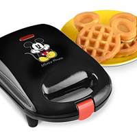 Disney DCM-9 Mickey Mini Waffle Maker, Black