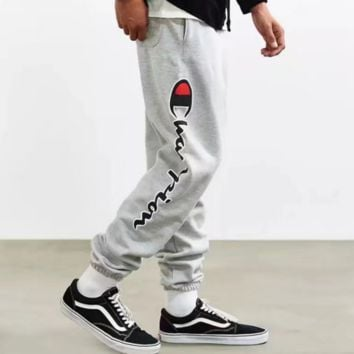 Champion Men's Fashion Print Stretch Pants Trousers F