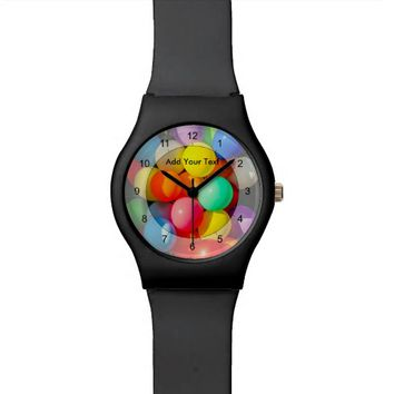 Colorful Toy Balloons Watch