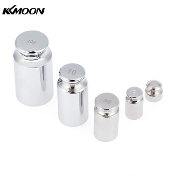 Mini Scale Weights Set for 1g 2g 5g 10g 20g Digital Scale balance Chrome Plating Calibration Gram Weights for electronic scales