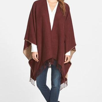 5579c60df50 Women s Nordstrom Reversible Cape with Fringe