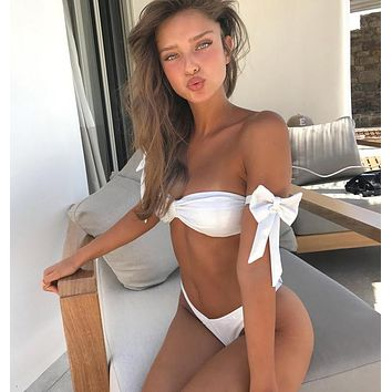 Swimsuit Summer Beach New Arrival Hot Swimwear Butterfly White Sexy Bikini