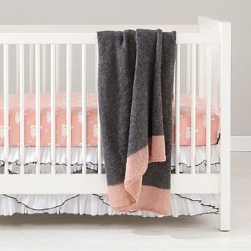 Swan Soiree Baby Bedding | The Land of Nod