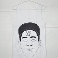 Big Face Tyler Gregory Okonma Tyler, The Creator Wolf Haley Tyler Haley Odd Future Loiter Squad Cotton Unisex Short & Long Vest Tank top