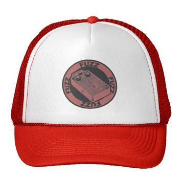 Fuzz Pedal Red/Black Trucker Hat