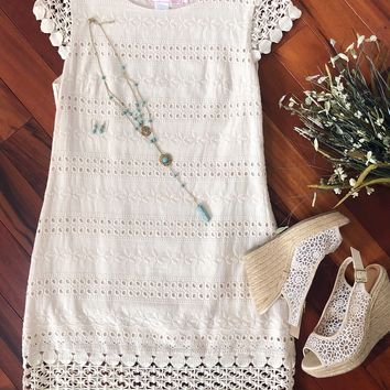 Classic Perfection Dress, Cream