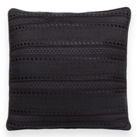 kate spade new york eyelet stripe accent pillow | Nordstrom
