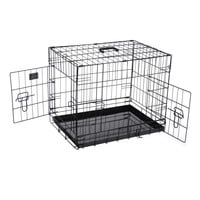 """Pet Trex PT2300 24"""" Folding Pet Crate Kennel Wire Cage for Dogs, Cats or Rabbits"""