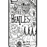 The Beatles On iPhone 4 Case, iPhone 4s Case, iPhone 4 Hard Case, iPhone Case-graphic Iphone case