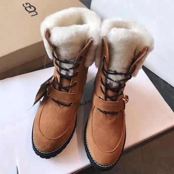 UGG Women Casual Low Heeled Shoes Boots-9