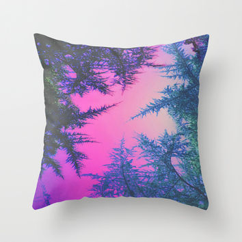 Crossover Throw Pillow by DuckyB (Brandi)