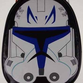 Thermos Star Wars Clone Trooper Insulated Tote Bag School Lunch Box Mask Handle