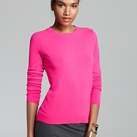 C by Bloomingdale's Cashmere Crew Neck Sweater